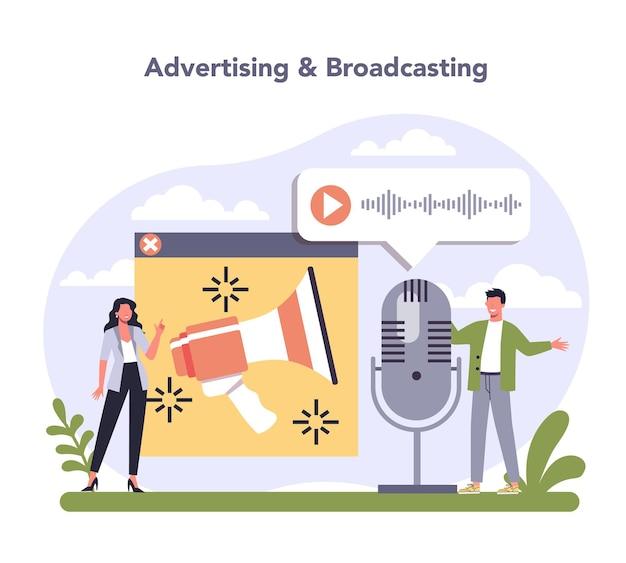Media- en entertainmentindustrie multimediacommunicatie en -diensten