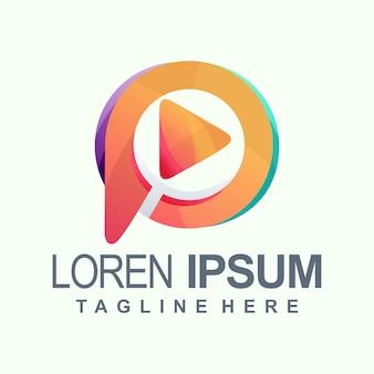 Media-logo afspelen
