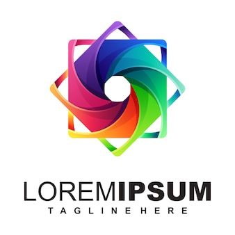 Media-logo ontwerp