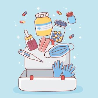 Medicijnen voor ehbo-doos