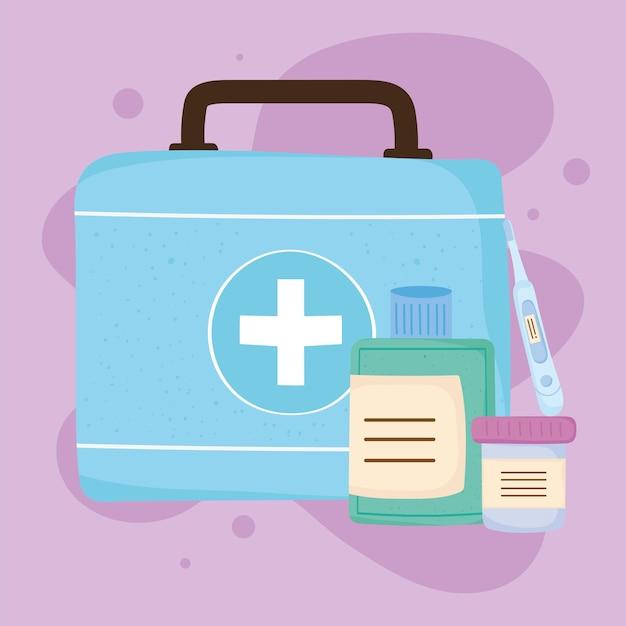 Medicijnensets en koffer