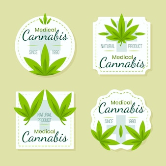 Medicinale cannabis badges