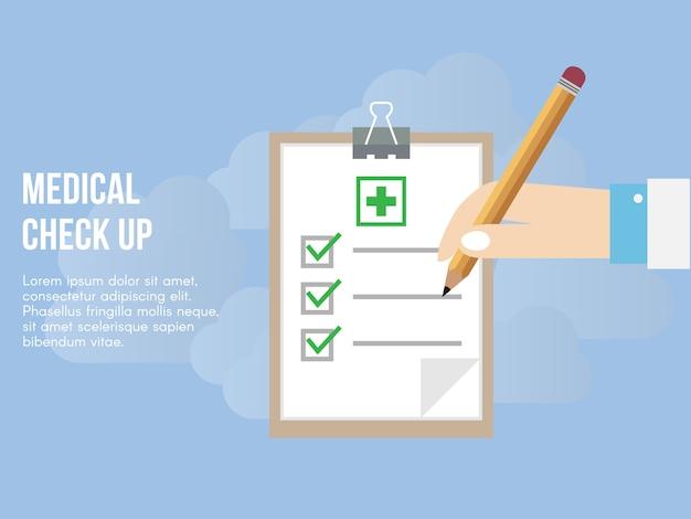Medisch check-up concept.