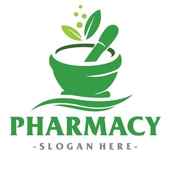 Medisch en apotheek-logo