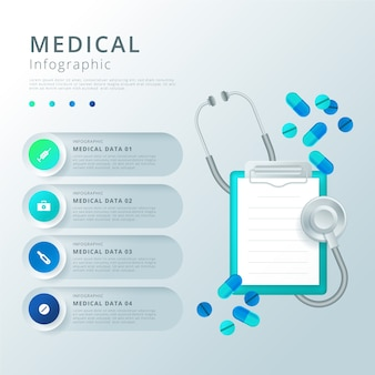 Medisch infographic concept