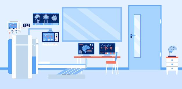 Medisch kantoor met mri mrt magnetische resonantie tomografie