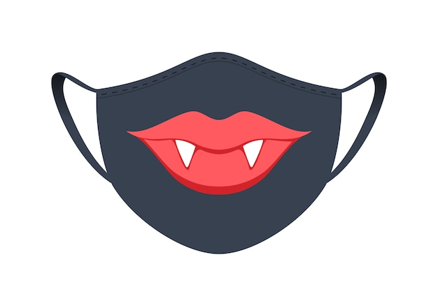Medisch masker met grappig ontwerp