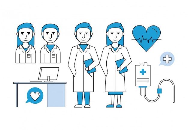 Medisch onderzoeksteamwerk