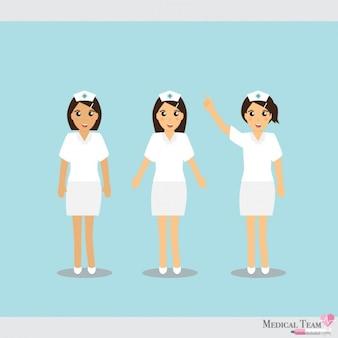 Medisch team ontwerp