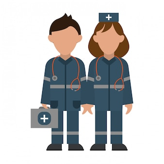Medisch teamwork avatar