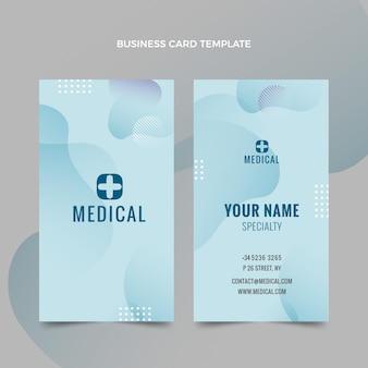 Medisch verticaal visitekaartje