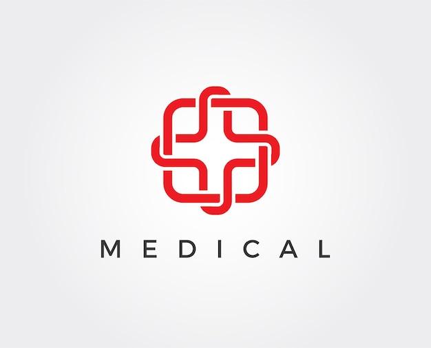 Medische apotheek logo sjabloon logo