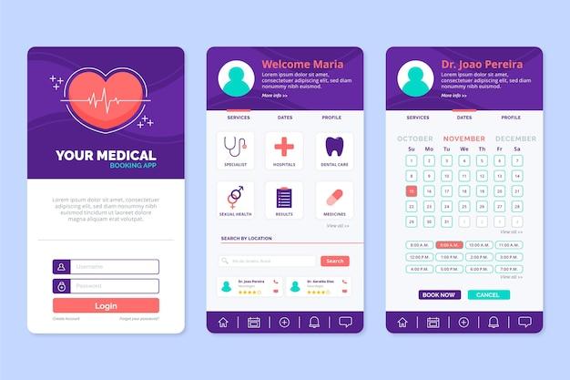 Medische boekingsapp