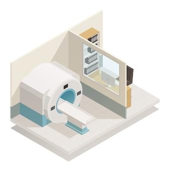 Medische diagnostische apparatuur isometrisch