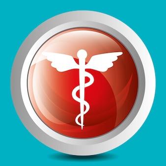 Medische gezondheidszorg grafisch