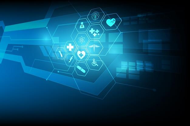 Medische gezondheidszorg wetenschap innovatie achtergrond