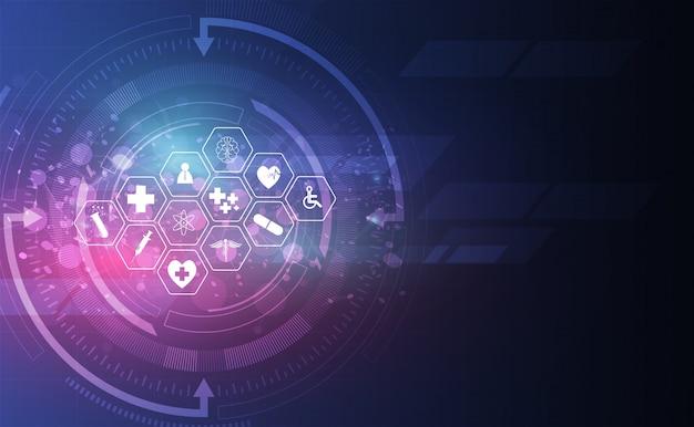 Medische gezondheidszorg wetenschap innovatie