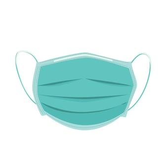Medische masker illustratie