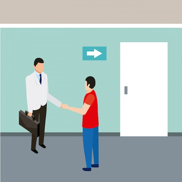 Medische mensen gezondheid