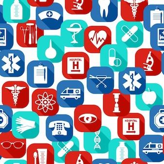 Medische naadloos patroon