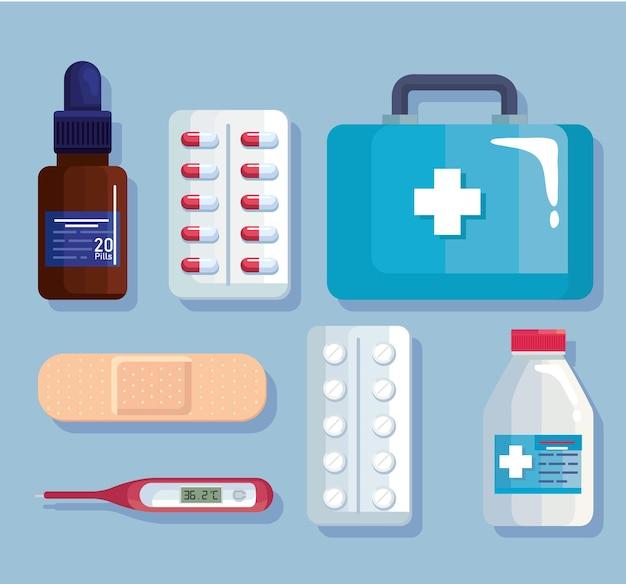 Medische pictogrammenset
