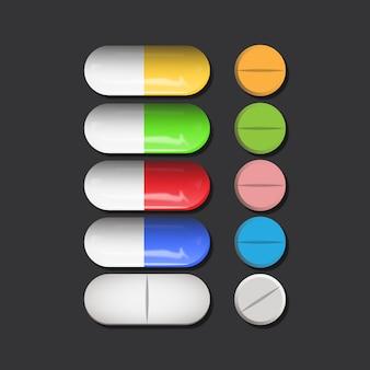 Medische pils set