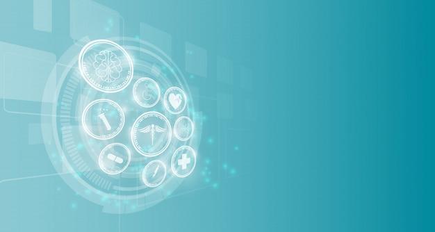 Medische technologie innovatie achtergrond