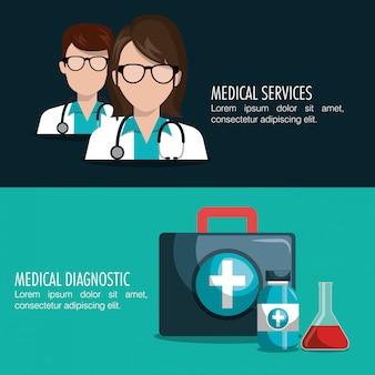 Medische zorg ontwerp