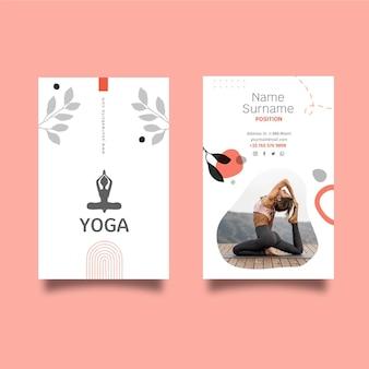 Meditatie en mindfulness visitekaartje