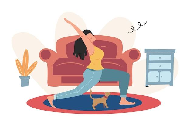 Meditatieconcept tijdens werkonderbreking, gezondheidsvoordelen van lichaam, geest en emoties, denkproces