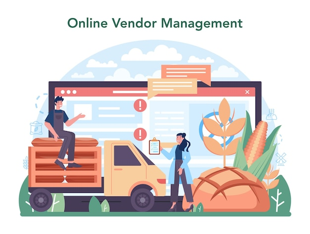 Meelmeltindustrie online service of platform moderne graanoogst