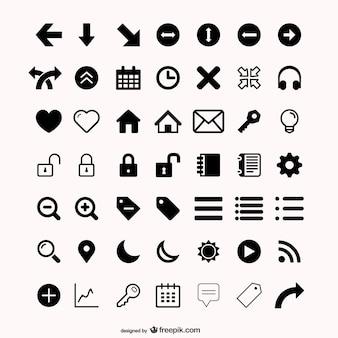 Meer dan nut pictogram vector materiaal