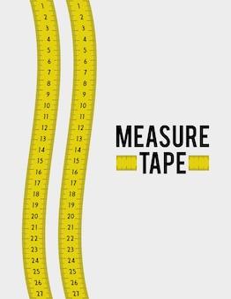 Meet tape en een dieet