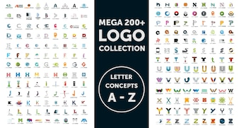 Mega-logo collectie