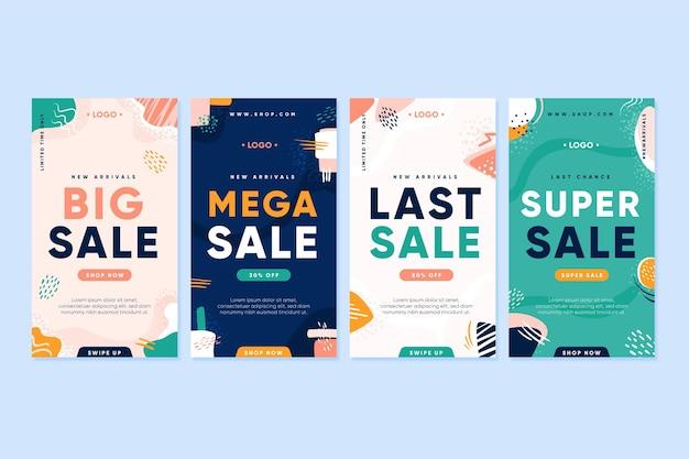 Mega verkoop instagramverhalen