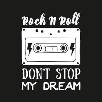 Meisje rocker t-shirt ontwerp. rockster borduurwerk patch ontwerpserie