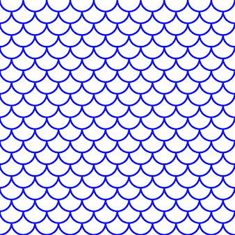 Meisjesachtig vis schaalpatroon. vector illustratie