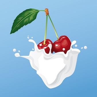 Melk en bessenvlieger