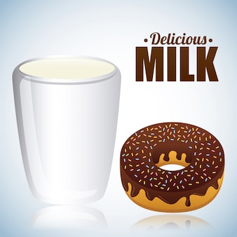 Melk ontwerp