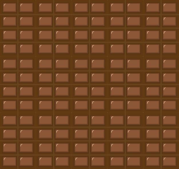 Melkchocoladereep naadloos patroon.