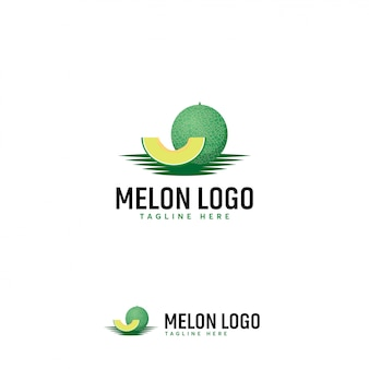 Meloen fruit logo