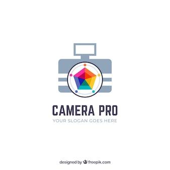Membraan fotografie logo in kleuren