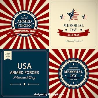 Memorial day achtergrond collectie