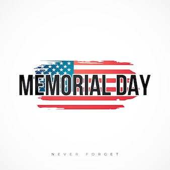 Memorial day nationale amerikaanse feestdag