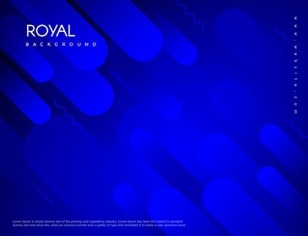 Memphis abstracte blauwe achtergrond