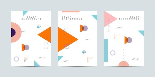 Memphis cover design collectie