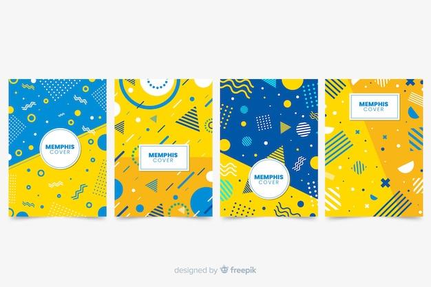 Memphis covercollectie met geel