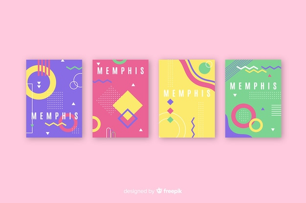 Memphis design covercollectie
