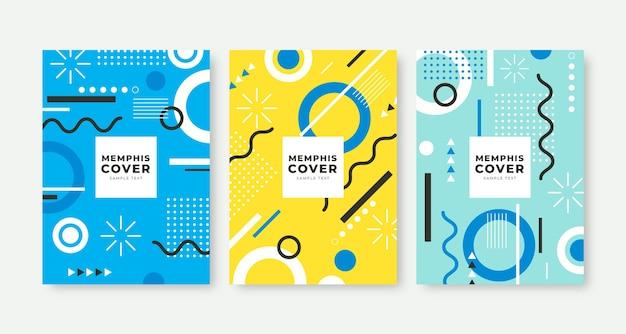 Memphis design omslagset
