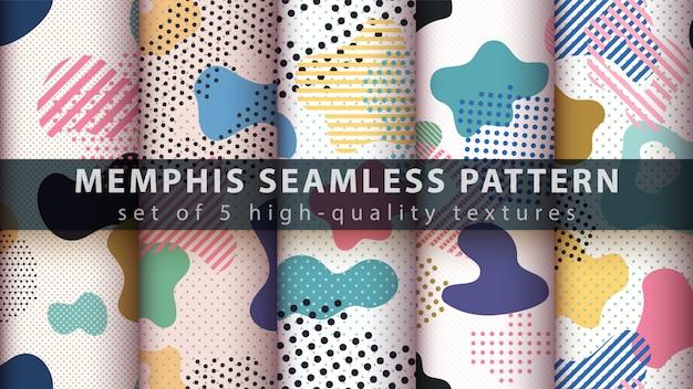 Memphis naadloos patroon